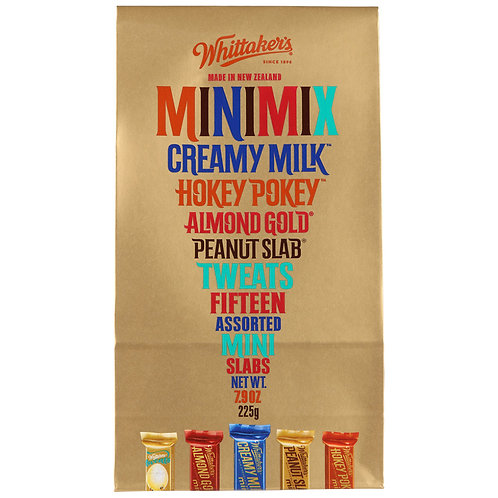 Whittakers Chocolate Assorted Mimi Mix 225g 雜錦小朱古力
