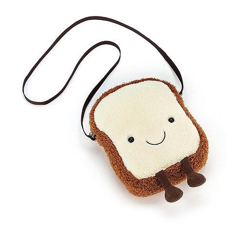 Jellycat Amuseable Toast 19cm 卡通吐司包包