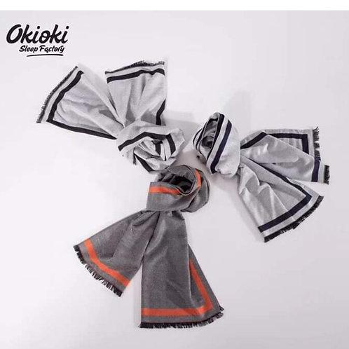 Okioki Hyaluronic Acid Cashmere Scraf 玻尿酸羊絨圍巾 短鬚 60*180cm