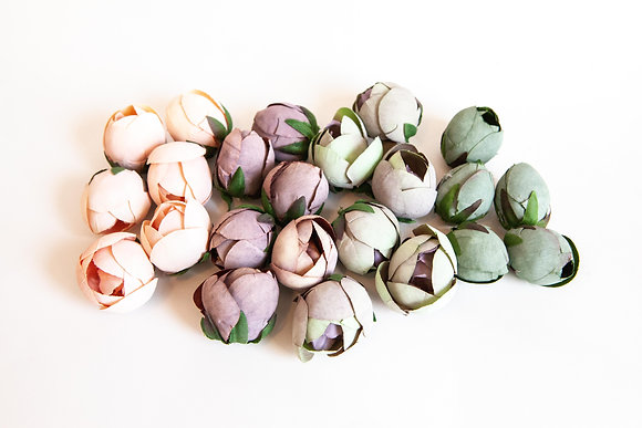 23 Vintage Inspired Peony Buds