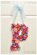 DIY Flower Monogram Tutorial
