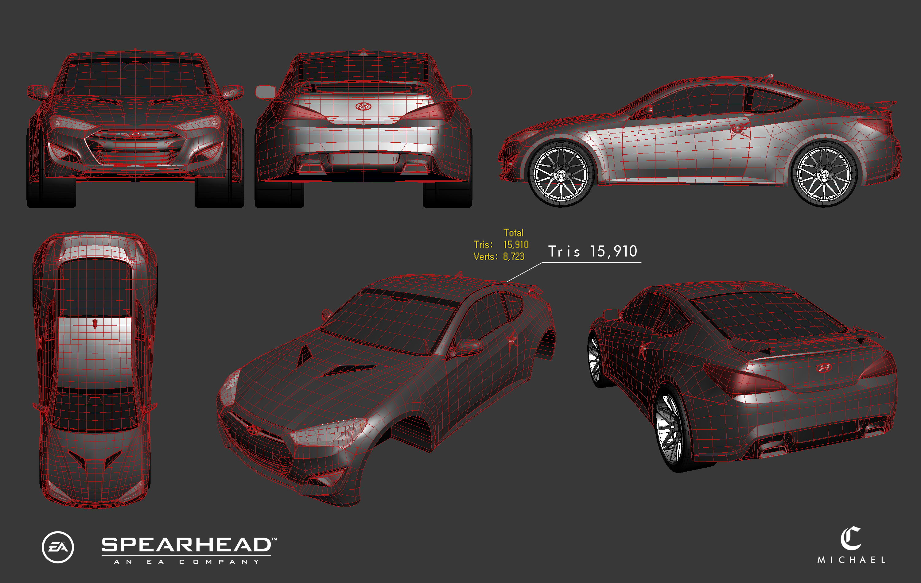 Genesis coupe_WireFrame (2014)