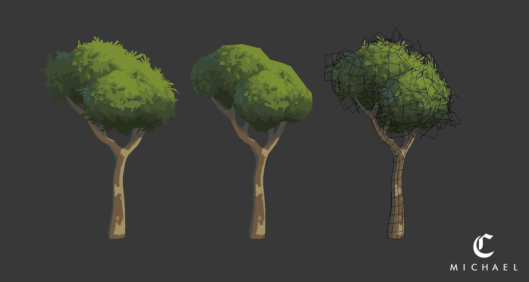 캐주얼 나무