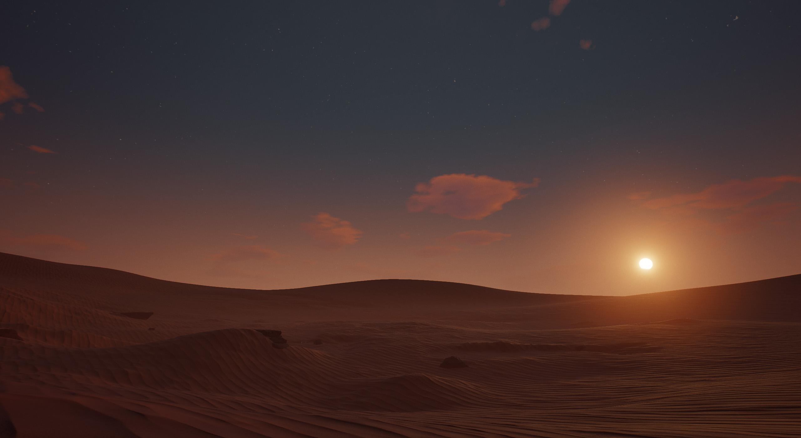 Desert Lighting