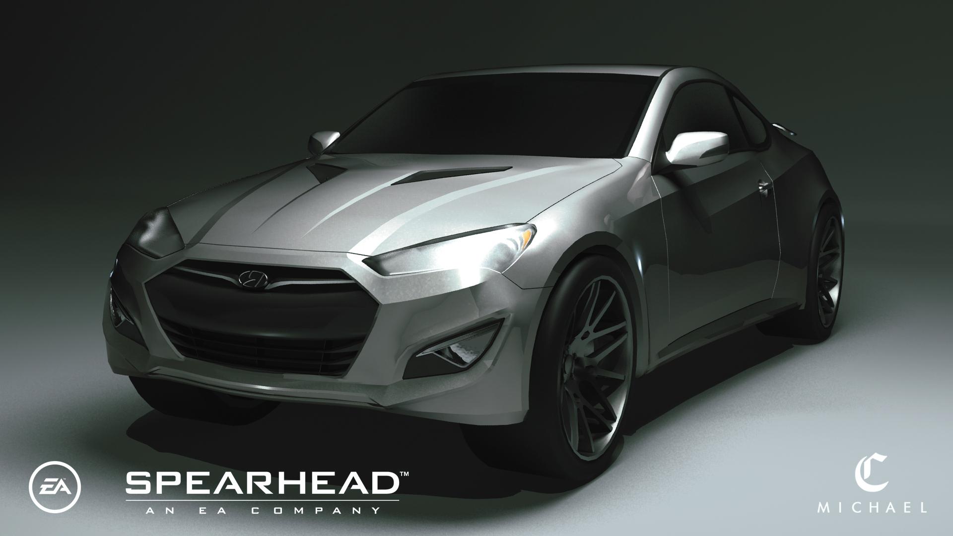 Genesis coupe_Rendering (2014)