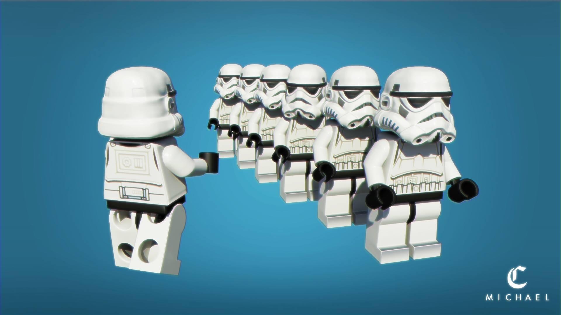 Stormtrooper Lego ver. (2014)