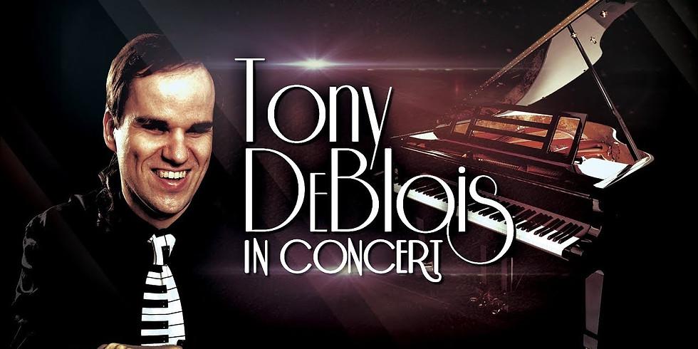 Tony DeBlois Live via Zoom!