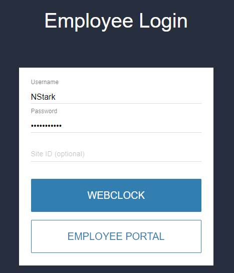 PayNortheast Employee Portal Login