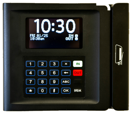 Affordable Time Clock