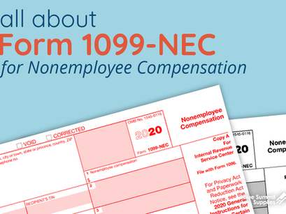 1099-NEC Form