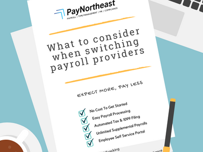What To Consider When Choosing a New Payroll Provider