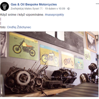 Gas and Oil Bespoke Motorcycles