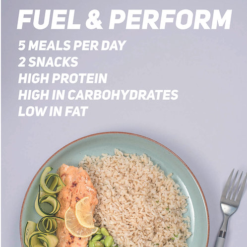 The Fuel & Performance Plan (7 Day Package)