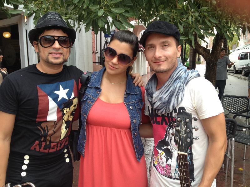 Singer Servando & Obbie Bermudez