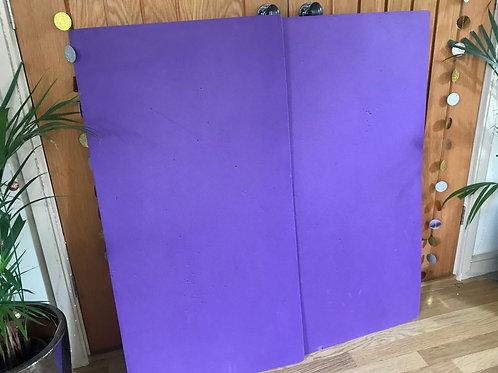 FOAM Pilates Mat x 2 in PURPLE