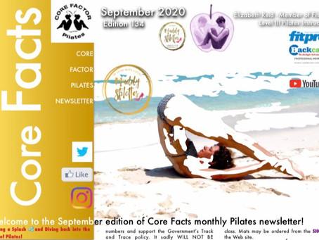 September 2020 Newsletter!