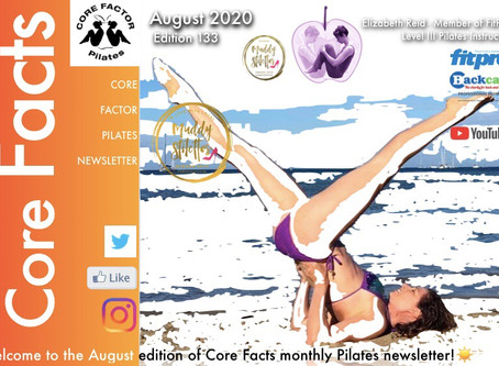 ☀️Diary of a Pilates Instructor...The August Newsletter has now landed and my 'Roadmap back to Venue