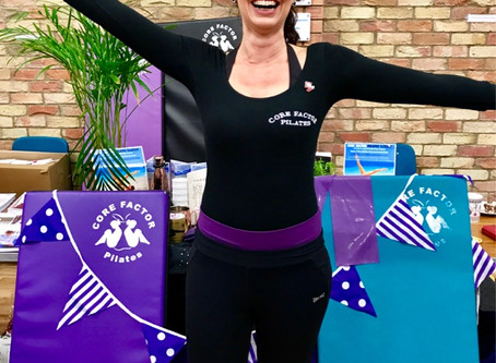 Diary of a Pilates Instructor...celebrating 25 years of Somersham Victory Hall! 🎈✨