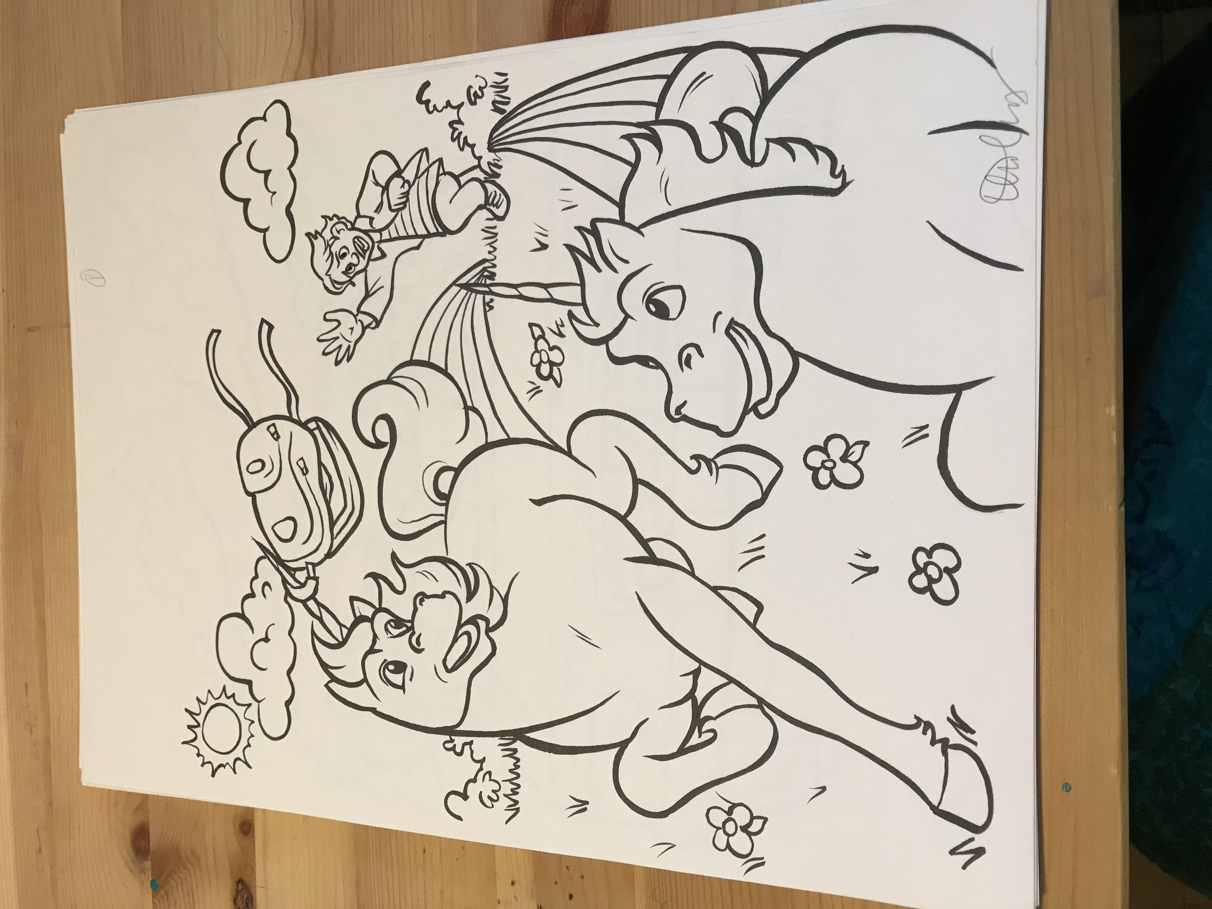 Unicorns page 1