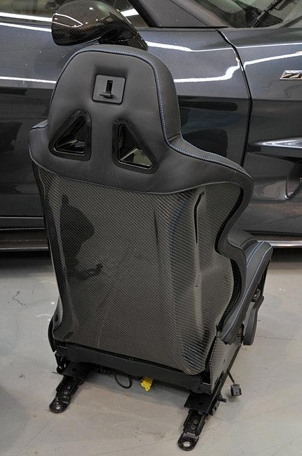 Caravaggiocorvettes C6 Daytona Race Seats With Carbon Fiber