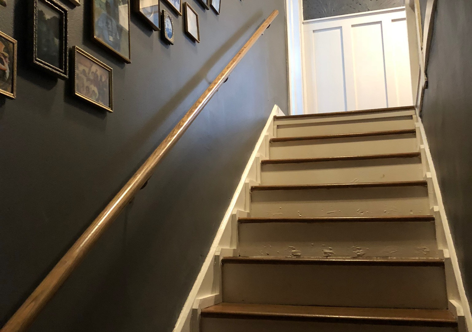 Stairs and Gallery Wall