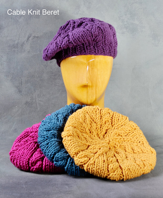 Cable knit beret .jpeg