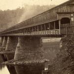 Covered bridge in Sharpsburg