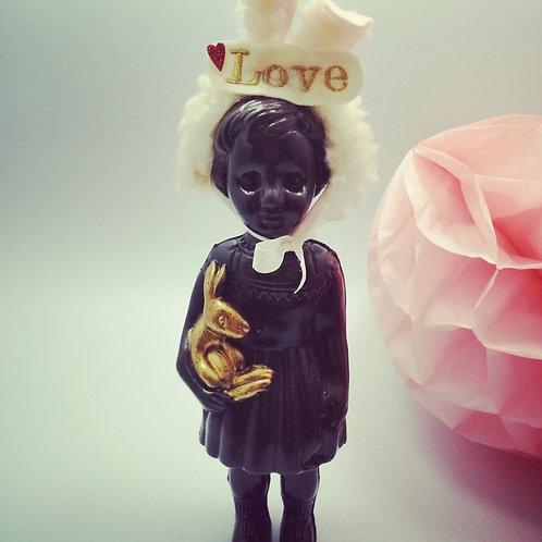 Chocolate Brown Clonnette Doll