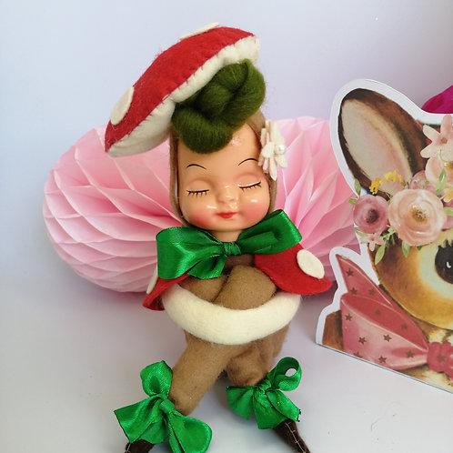 Woodland 'Pixie' Kitsch Art Doll