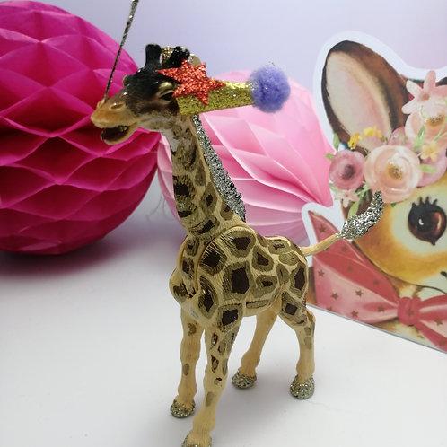 Kitsch  Animal cake topper - Giraffe