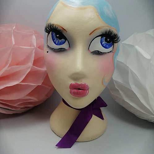 'Lulu' Female Mannequin Head