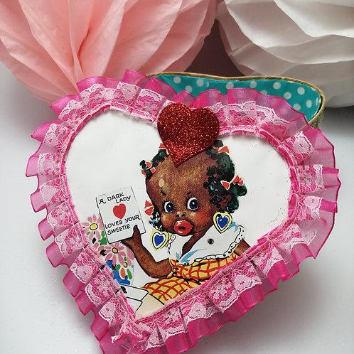 Kewpie Vintage Style  kitsch Gift Box