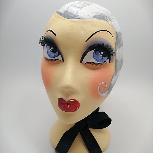 'Lulu' Female Mannequin Head