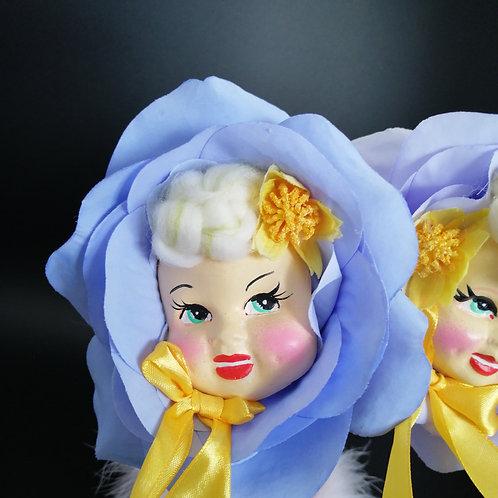 Kitsch Blue Rose  Flower Gal
