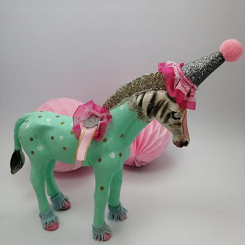 Large Kitsch Animal Birthday Table Decoration- Zebra