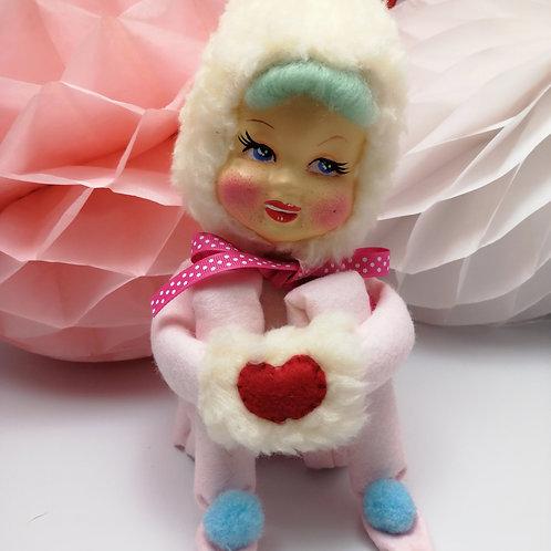 Vintage Style 'Pixie' Kitsch Art Doll