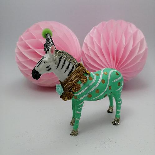 Kitsch  Animal cake topper - Zebra