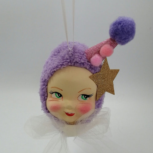 Kitsch Doll Face Party Hanging Doll decoration