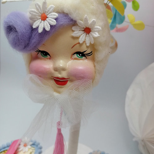 Kitsch Easter  Hanging Doll decoration