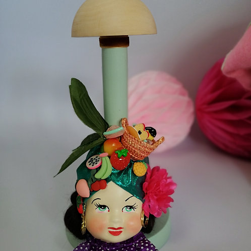 Carmen Miranda table Hat stand