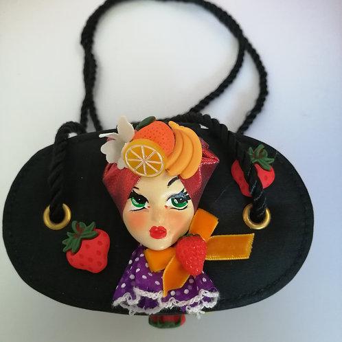 Carmen Miranda Doll Cocktail / Evening bag