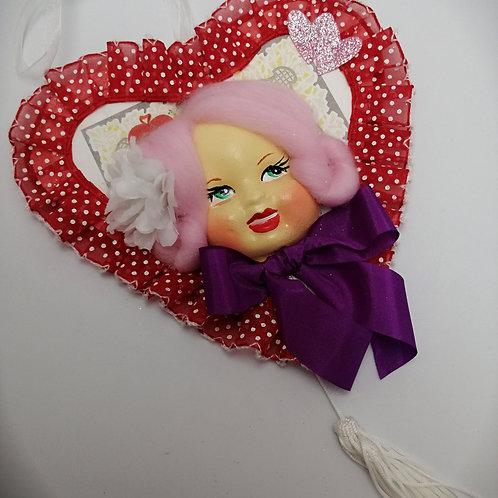 Kitsch Valentine decoration handmade
