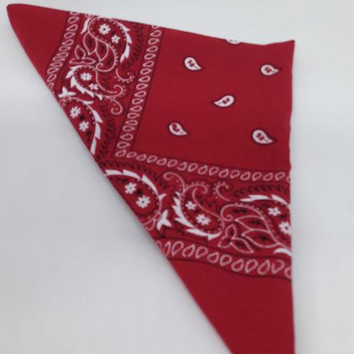 Rockabilly red 'Rebel' Headscarf