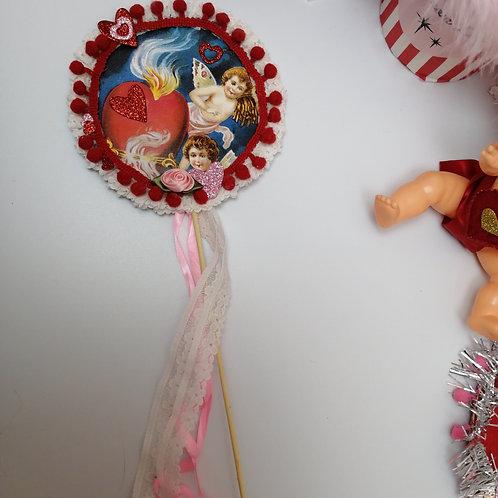Kitsch Valentine embellishment / decoration