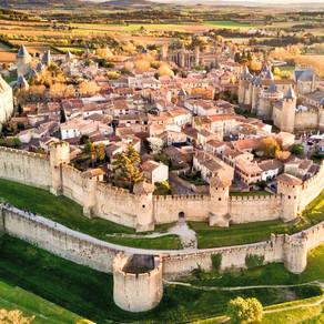 CARCASSONNE: la ciudad medieval más bonita de FRANCIA