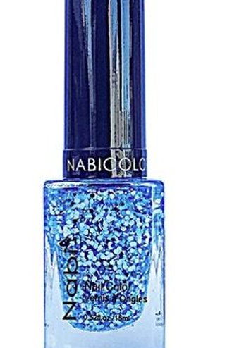 Nabi Nail Polish Sky Blue Flake 60