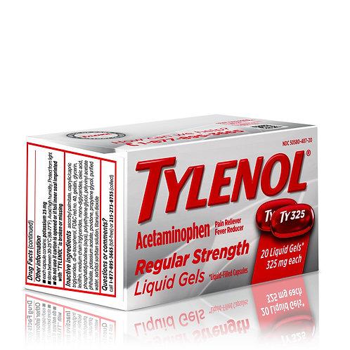 Tylenol Regular Strength Liquid Gels 325mg