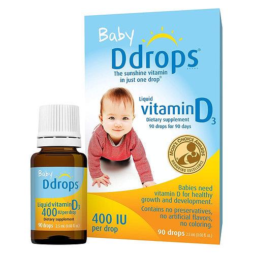 Baby Ddrops ☀ Liquid Vitamin D3