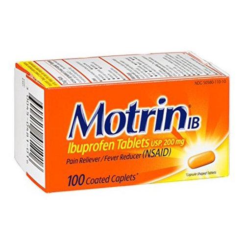 Motrin Coated Caplets 50ct