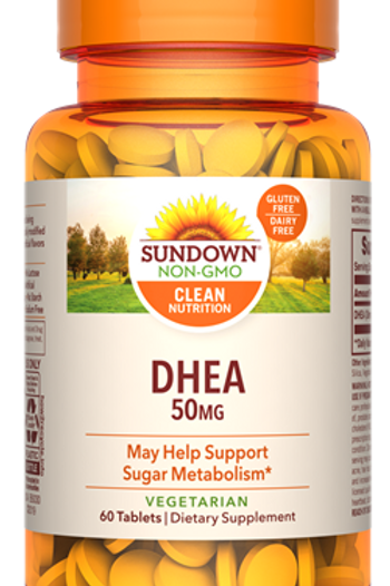 Sundown DHEA 50mg Tablets 60ct